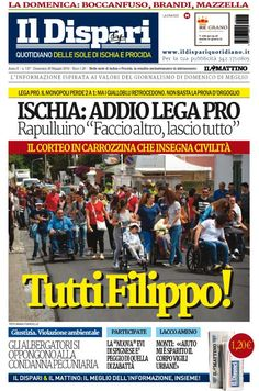 La copertina del 29 maggio 2016  #ischia #ildispari