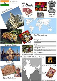 Inde Continents Activities, Les Continents, Kids Around The World, Travel Around The World, Montessori, Alternative Education, Team Challenges, World Crafts, Thinking Day