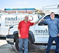 Rand Aire Mechanical Cont, Inc. in Orange CA California Air Conditioning Services, Location Map
