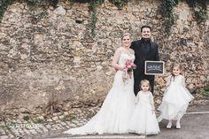 Deutsch-italienische Hochzeit mit Kindern in der Oppenheimer Altstadt