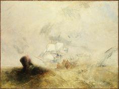 The Whale Ship, 1845. Joseph Mallord William Turner.