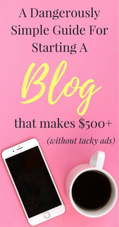 Blogging for Beginners. A step by step guide for How to Start A Blog That Earns Money in Less than 10 minutes