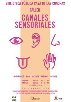 Taller Canales Sensoriales impartido por Matilde Mendo Vicente. Febrero-marzo Word Search, Words, Writing Workshop, Reading Workshop, February, Horse
