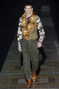 Dries Van Noten Fall 2005 Menswear Collection - Vogue