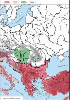 (Avar Empire) Avar Khaganate in Central Europe.giving trouble to the Byzantine Empire in red. Turkic Languages, Semitic Languages, Eurasian Steppe, Golden Horde, Indian Hindi, Dna Genealogy, Blue Green Eyes, Central And Eastern Europe, Indian Language