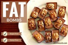 Chocolate Fat Bombs - sugar free to keep those carb cravings away