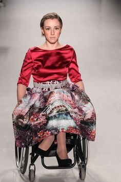 These Models With Disabilities Featured In An Inspiring New York Fashion Week…