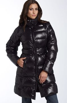 "8692feded4 Black The North Face ""Caroline"" down coat"