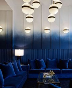 Pantone Color of the Year 2020 I Top Trends & Ideas - Dekorasyon Fikirleri - Home Decor Architecture Restaurant, Restaurant Interior Design, Luxury Interior Design, Interior Design Inspiration, Modern Restaurant, Architecture Interiors, Lobby Interior, Home Interior, Home Design
