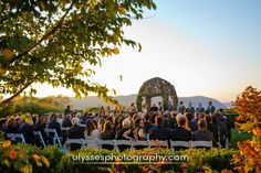 One of the prettiest places on earth to have your ceremony, amazing Hudson Valley views at@thegarrisonny   - NY wedding photographers Ulysses Photography