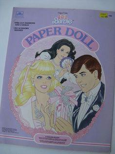 I had this set of paper dolls