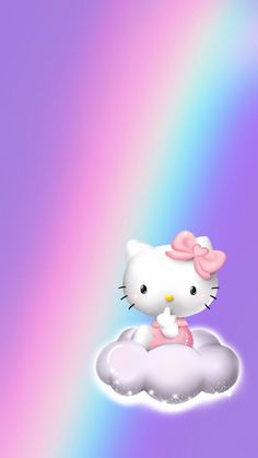Hello Kitty Fotos, Hello Kitty Art, Hello Kitty Iphone Wallpaper, Hello Kitty Backgrounds, Hello Kitty Pictures, Kitty Images, Cute Screen Savers, Ipad Background, Hello Kitty Collection