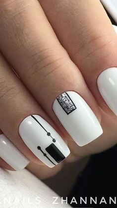 Beautiful Nail Art, Nails Design, Acrylics, Projects, Beauty, Templates, Nail Manicure, Fingernail Designs, White People