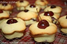 Biscuits, Muffin, Cookies, Breakfast, Quiches, Food, Vanilla Cake, Cherry Clafoutis, Pastry Recipe