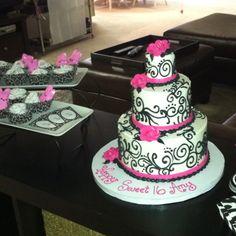 Amy's Sweet 16 Cake