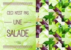 Ceci n'est pas une salade #Veggister #Florette #Salade #Hipster #Lifestyle #Citation #Quote