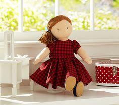 Doll Plaid Party Dress
