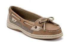 Sperrys!  Love the girl version and you can't go wrong with this color...it matches with everything