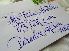 Wedding CalligraphySunshine Font by njwcalligraphy on Etsy, $2.50