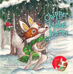 Book Review Tour Featuring *Chipper Makes Merry* by Kimber Fox Morgan @ireadbooktours #giveaway ~ I'm Into Books ~ Book Tours & Reviews