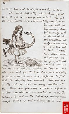 Image of Lewis Carroll's Alice's Adventures Under Ground, page 76