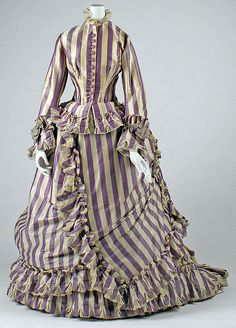 Visiting Dress 1867 The Metropolitan Museum of Art