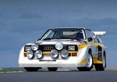 Audi Sport quattro S1 de RALLYYYYYY¡