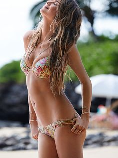 The Fabulous Top and The Strappy Cheeky Bottom - Beach Sexy - Victoria's Secret