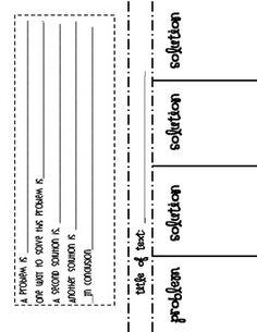 Nonfiction Text Structure Foldable