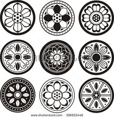 Find Korean Traditional Symbol Vector Image Korean stock images in HD and millions of other royalty-free stock photos, illustrations and vectors in the Shutterstock collection. Thousands of new, high-quality pictures added every day. Chinese Patterns, Ethnic Patterns, Flower Patterns, Japanese Patterns, Korean Art, Asian Art, Korean Tattoos, Korean Design, Oriental Pattern