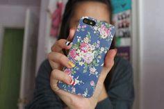 floral iphone case. ♡