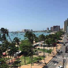 Av. Beira Mar de nossa linda Fortaleza, Ceará, Brasil!