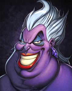 My mom said that they modeled Ursula after my Grandma Williams. From what I remember of her, she's probably right.