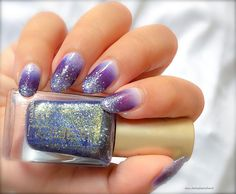 29 Gradient Nail Designs You Must Try - Fashion Star,Purple nail design. Gradient Nail Design, Gradient Nails, Glitter Nails, Bright Red Nails, Purple Nails, Blue Nail Designs, Winter Nail Designs, Nail Hardener, Red Nail Polish