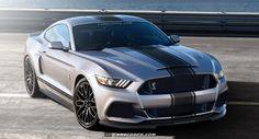 Coches de futuro: 2016 Ford Shelby Mustang GT500 golpea el Redline