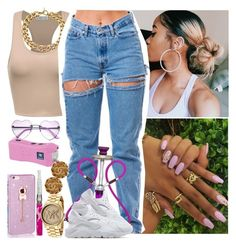 """House Party-Me 🍃✨"" by saucinonyou999 ❤ liked on Polyvore featuring Michael Kors, NIKE and Chanel"
