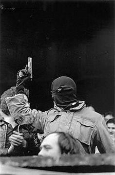 IRA gunman.