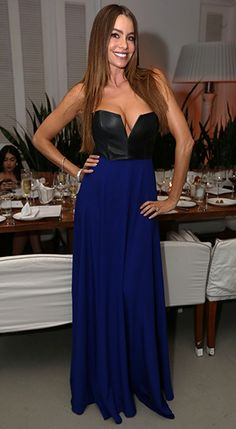 Sofia Vergara wore a Mason dress, an exclusive for INTERMIX, to celebrate New Year's Eve at Miami's Delano hotel.