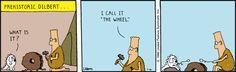 Prehistoric Dilbert