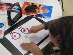 Irresistible Ideas for play based learning - it's all in the interpretation! (Self portraits)