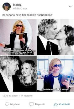 Supergirl 1x19 Cat ( Calista Kay Flockhart) and her husband Harrison Ford
