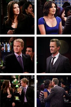 Barney and robin, parallels of then and now.