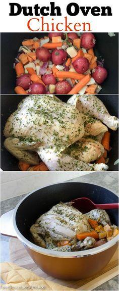 Oven Chicken Recipes, Dutch Oven Recipes, Cooking Recipes, Easy Recipes, Amish Recipes, Carrot Recipes, Chicken Meals, Broccoli Recipes, Rice Recipes