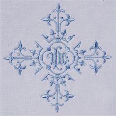 Vintage Ecclesiastical Design 902 Embroidery Design