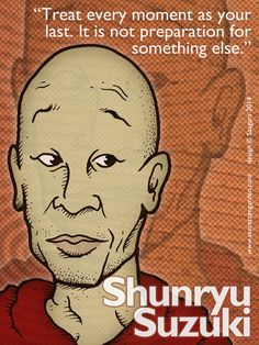 Zen Beginner - Shunryu Suzuki. The guru of Jobs's guru, Kobun Chino Otogawa.