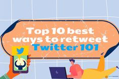 Top 10 best ways to retweet | Twitter 101 #TwitterTips #BusinessGrowth #socialmediamarketing #b2b Twitter For Business, Bait And Switch, Twitter Tips, Social Media Marketing, Real Life, I Am Awesome, Politics, Check, Top