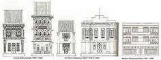 early penang shophouse style - Google Search