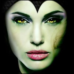 Awesome Tutorial on How to do Maleficent Makeup! http://halloweenideasforwomen.com/how-to-do-maleficent-makeup/