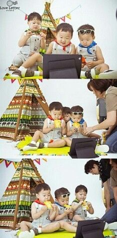 Song Triplets go camping! Love letter photoshoot