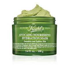 Scoop up rich, creamy hydration with Kiehl's Avocado mask. For softer, smoother skin, our Avocado face mask is the perfect pick! Avocado Mask, Avocado Oil, Ripe Avocado, Maquillage Goth, Pots, Best Face Mask, Face Masks, Face Face, Aloe Vera Face Mask